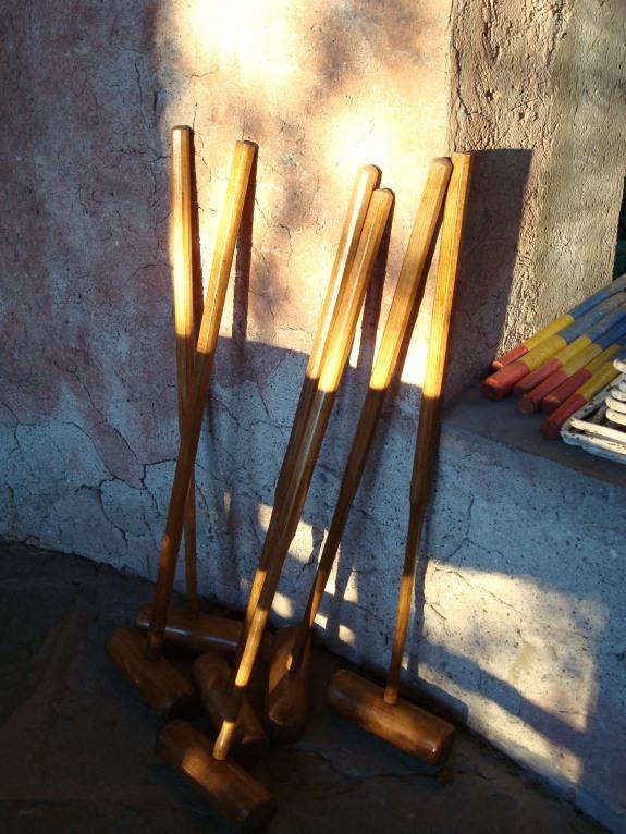 croquet-mallets