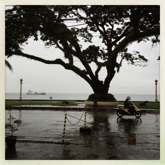Rainy day in Dumaguete